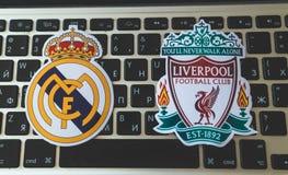 L'UEFA Champions League Photographie stock libre de droits