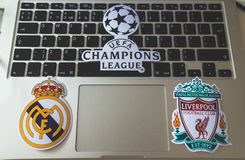 L'UEFA Champions League Image stock