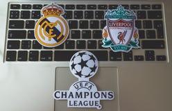 L'UEFA Champions League Images stock