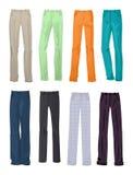 L'ufficio ed i pantaloni casuali degli uomini Immagini Stock