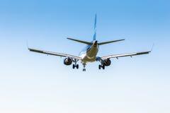 L'Ukraine, Borispol - 22 mai : L'avion débarque à l'aéroport international Borispol le 22 mai 2015 dans Borispol, Ukraine Photographie stock libre de droits