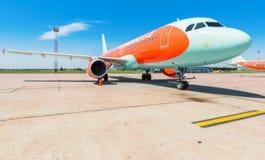 L'Ukraine, Borispol - 22 mai : Ligne aérienne Windrose d'avions à l'aéroport international de Borispol le 22 mai 2015 dans Borisp Image libre de droits