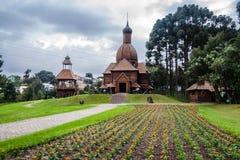 L'Ukraine Curitiba commémoratif Brésil Images stock