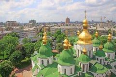 l'ukraine kiev l'ukraine Cathédrale de Sophias de saint photographie stock libre de droits