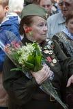 L'UKRAINE, KIEV, le 9 mai 2016, Victory Day, le 9 mai Monument à un soldat inconnu : Les vétérans de la deuxième guerre mondiale  Photo libre de droits
