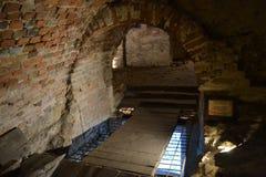 L'Ukraine la ville de Lviv du souterrain de Lviv photos stock