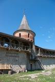 l'ukraine Vieille forteresse dans Kamianets-podilskyi Photo libre de droits