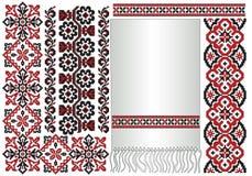 l'Ukrainien de configuration brodent Photographie stock libre de droits