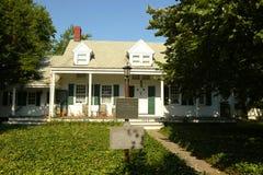 L'ultima casa coloniale olandese privata 1700 di s in NYC a Brooklyn, New York Immagini Stock