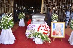 L'ultima casa della madre di presidente Laurent Gbagbo Immagini Stock Libere da Diritti