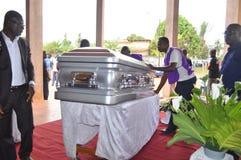 L'ultima casa della madre di presidente Laurent Gbagbo Fotografia Stock