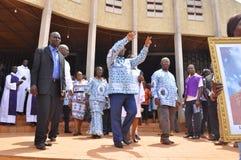 L'ultima casa della madre di presidente Laurent Gbagbo Fotografie Stock Libere da Diritti