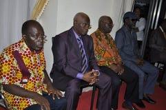 L'ultima casa della madre di presidente Laurent Gbagbo Immagine Stock