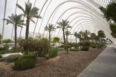 L Umbracle Garden Royalty Free Stock Image