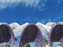 L'Umbracle - Valencia Royalty Free Stock Photo