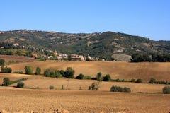 L'Umbria rurale Fotografia Stock Libera da Diritti