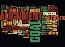 L'un poinçon deux pour l'authenticité de succès et le concept de nuage de Word de fond des textes d'alignement Photos libres de droits