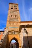 L'UNESCO d'Aragon Teruel Torre de San Martin Mudejar photographie stock