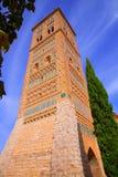L'UNESCO d'Aragon Teruel Torre de San Martin Mudejar photographie stock libre de droits