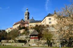 L'UNESCO de bâtiment historique dans la République Tchèque Image libre de droits