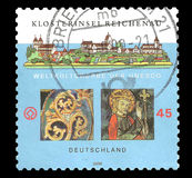 L'UNESCO de der de Weltkulturerbe - Klosterinsel Reichenau Photographie stock libre de droits