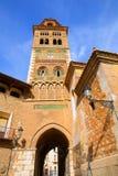 L'UNESCO Mudejar de Santa María Mediavilla de cathédrale d'Aragon Teruel image stock