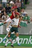 L'Ungheria contro i Paesi Bassi Calcio 2016 del qualificatore dell'euro dell'UEFA dell'Irlanda del Nord m. Fotografia Stock