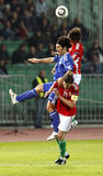 L'Ungheria contro il San Marino 8-0 Immagini Stock