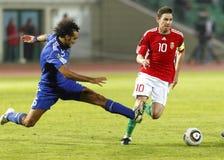 L'Ungheria contro il San Marino 8-0 Immagine Stock