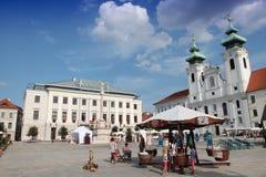 L'Ungheria - Gyor Fotografia Stock Libera da Diritti