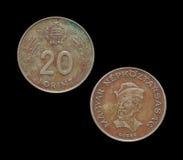 L'Ungheria una moneta da 20 forint Fotografia Stock