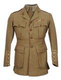 L'uniforme WW1 del grande ufficiale di guerra Fotografie Stock