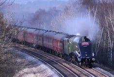 L'union de l'Afrique du Sud a préservé la machine à vapeur. Images stock