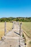 L'Unione Sovietica Tong Pae Bamboo Bridge Fotografia Stock Libera da Diritti