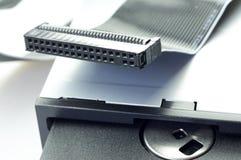 L'unité de disquettes et à disque souple Photo libre de droits