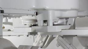 l'unité de mélangeur concret Photographie stock