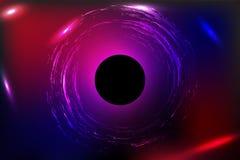 L'univers et le blackhole Photographie stock libre de droits