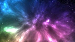 L'univers a rempli d'étoiles, et beau de la galaxie Illustration Stock