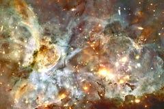 L'univers a rempli ?toiles, n?buleuse et galaxie Art cosmique, papier peint de la science-fiction image libre de droits