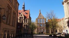L'università città universitaria della strada di Manchester, Oxford, Inghilterra Immagini Stock