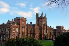 L'università delle regine Belfast fotografia stock libera da diritti