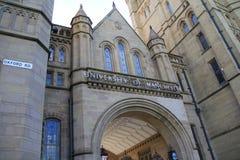 L'università di Manchester Fotografie Stock