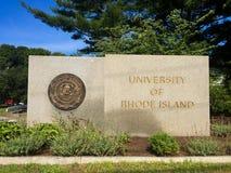 L'università di Rhode Island fotografia stock