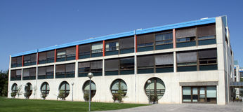 L'université édite de Pamplona, Navarra, Espagne. Images stock
