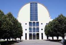 L'université édite de Pamplona, Navarra, Espagne. Photographie stock libre de droits