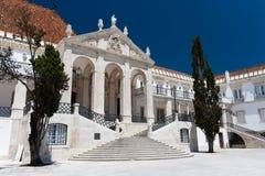 L'université de Coimbra est une université publique portugaise Image libre de droits