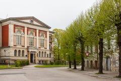 L'université de la Néo--Renaissance de Liepaja, autrefois Nicholas photos stock