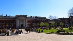 L'université de Manchester, Angleterre, Grande-Bretagne Images stock