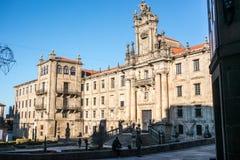 L'université de Santiago de Compostela Photos libres de droits