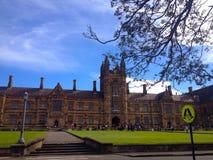 L'université de Sydney Image libre de droits